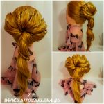 Zaitova Elena evening hairstyles