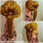 Zaitova Elena evening hairstyles 50
