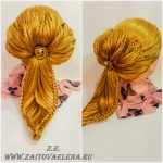 Zaitova Elena evening hairstyles 51