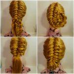 Zaitova Elena evening hairstyles 52