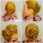 Zaitova Elena evening hairstyles 53