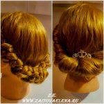 Zaitova Elena hairstyle to 1 September 58