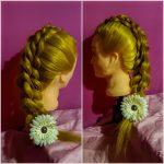 Zaitova Elena workshop wedding hairstyle 2